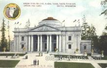 exp050085 - Oregon State Building 1909 Alaska - Yukon Pacific Exposition Seattle Washington, USA Postcard Post Card