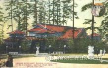 exp050097 - Japanese Government Building 1909 Alaska - Yukon Pacific Exposition Seattle Washington, USA Postcard Post Card