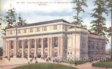 exp050100 - Auditorium 1909 Alaska - Yukon Pacific Exposition Seattle Washington, USA Postcard Post Card