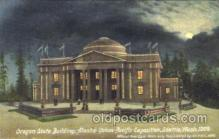 exp050112 - Oregon State Building 1909 Alaska - Yukon Pacific Exposition Seattle Washington, USA Postcard Post Card