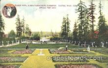 exp050122 - Ranier Vista and Music Pavilion 1909 Alaska - Yukon Pacific Exposition Seattle Washington, USA Postcard Post Card