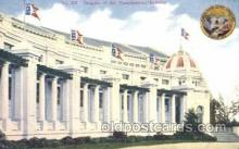 exp050126 - Manufactures Building 1909 Alaska - Yukon Pacific Exposition Seattle Washington, USA Postcard Post Card
