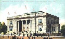 exp050144 - Washington State Building 1909 Alaska - Yukon Pacific Exposition Seattle Washington, USA Postcard Post Card