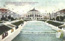 exp050161 - Interlaken Boulevard 1909 Alaska - Yukon Pacific Exposition Seattle Washington, USA Postcard Post Card