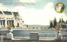 exp050163 - Lake Washington 1909 Alaska - Yukon Pacific Exposition Seattle Washington, USA Postcard Post Card