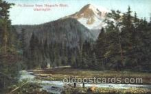 exp050166 - Mt. Rainier, Washington, USA 1909 Alaska - Yukon Pacific Exposition Seattle Washington, USA Postcard Post Card