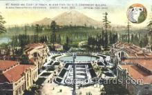 exp050170 - Mt. Rainier Court of Honor 1909 Alaska - Yukon Pacific Exposition Seattle Washington, USA Postcard Post Card