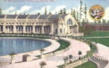exp050189 - Manufactures Building 1909 Alaska - Yukon Pacific Exposition Seattle Washington, USA Postcard Post Card