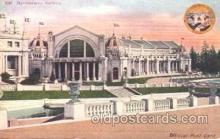 exp050194 - Manufactures Building 1909 Alaska - Yukon Pacific Exposition Seattle Washington, USA Postcard Post Card