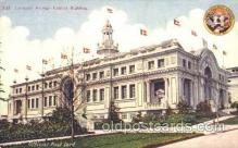 exp050215 - European Foreign Exhibit Building 1909 Alaska - Yukon Pacific Exposition Seattle Washington, USA Postcard Post Card