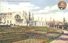 exp050222 - Music Pavilion 1909 Alaska - Yukon Pacific Exposition Seattle Washington, USA Postcard Post Card