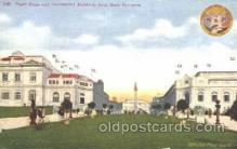 exp050234 - Puget Plaza and Government Buildings 1909 Alaska - Yukon Pacific Exposition Seattle Washington, USA Postcard Post Card