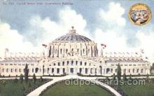 exp050238 - United States Government Building 1909 Alaska - Yukon Pacific Exposition Seattle Washington, USA Postcard Post Card