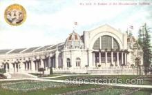 exp050241 - Manufactures Building 1909 Alaska - Yukon Pacific Exposition Seattle Washington, USA Postcard Post Card