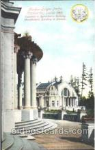 exp050265 - Agricultural Building 1909 Alaska - Yukon Pacific Exposition Seattle Washington, USA Postcard Post Card