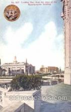 exp050272 - Looking East from steps of Manufactures Building 1909 Alaska - Yukon Pacific Exposition Seattle Washington, USA Postcard Post Card