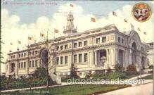 exp050274 - Europran Foreign Exhibit Building Alaska Yukon Exposition 1909 Postcard Post Card