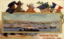 exp060027 - Hudson - Fulton 1909 Celebration Exposition Postcard Post Card