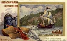 exp060029 - Hudson - Fulton 1909 Celebration Exposition Postcard Post Card