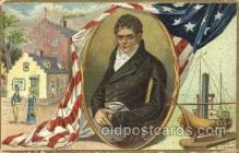 exp060055 - Robert Fulton Old Vintage Antique Postcard Post Card