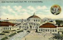 exp060063 - US. Government building Alaska - Yukon Pacific Exposition Seattle Washington, USA 1914
