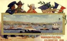 exp060092 - Naval Parade Hudson Fulton Celebration Expostion 1909 Postcard Post Card