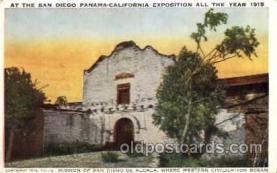 exp070001 - Panama - California Exposition, San Diego 1915, Postcard Post Card
