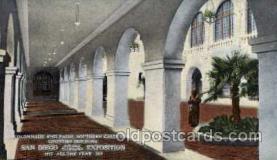 exp070003 - Panama - California Exposition, San Diego 1915, Postcard Post Card