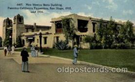 exp070005 - Panama - California Exposition, San Diego 1915, Postcard Post Card