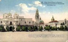 exp070009 - Panama - California Exposition, San Diego 1915, Postcard Post Card