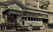 exp070013 - US Grant Hotel Auto Bus, Panama - California Exposition, San Diego 1915, Postcard Post Card