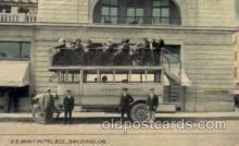 exp070014 - US Grant Hotel Auto Bus, Panama - California Exposition, San Diego 1915, Postcard Post Card