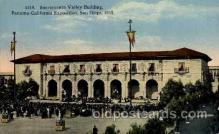 exp070017 - Panama - California Exposition, San Diego 1915, Postcard Post Card