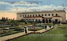 exp070024 - Panama - California Exposition, San Diego 1915, Postcard Post Card