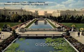 exp070030 - Panama - California Exposition, San Diego 1915, Postcard Post Card