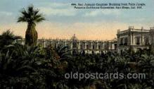 exp070031 - Panama - California Exposition, San Diego 1915, Postcard Post Card