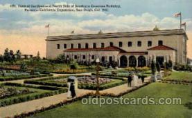 exp070034 - Panama - California Exposition, San Diego 1915, Postcard Post Card