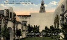 exp070038 - Panama - California Exposition, San Diego 1915, Postcard Post Card