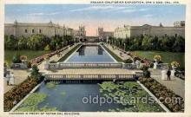 exp070043 - Panama - California Exposition, San Diego 1915, Postcard Post Card