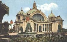 exp080163 - Festival Hall 1915 Panama International Exposition, San Francisco, California USA Postcard Post Card
