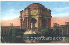 exp080169 - Fine Arts Palace 1915 Panama International Exposition, San Francisco, California USA Postcard Post Card