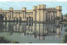 exp080170 - Fine Arts Palace 1915 Panama International Exposition, San Francisco, California USA Postcard Post Card
