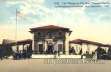 exp080181 - Philippine Pavilion 1915 Panama International Exposition, San Francisco, California USA Postcard Post Card