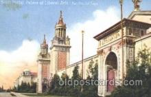 exp080190 - Palace of Liberal Arts 1915 Panama International Exposition, San Francisco, California USA Postcard Post Card