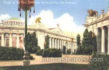 exp080194 - Court of Four Seasons 1915 Panama International Exposition, San Francisco, California USA Postcard Post Card