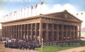 exp080197 - Oregon State Building 1915 Panama International Exposition, San Francisco, California USA Postcard Post Card