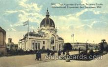 exp080202 - Argentine Pavillion 1915 Panama International Exposition, San Francisco, California USA Postcard Post Card