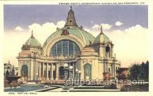 exp080207 - Festival Hall 1915 Panama International Exposition, San Francisco, California USA Postcard Post Card
