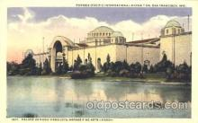 exp080208 - Palace of Food Products 1915 Panama International Exposition, San Francisco, California USA Postcard Post Card
