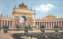 exp080217 - Court of the Universe 1915 Panama International Exposition, San Francisco, California USA Postcard Post Card